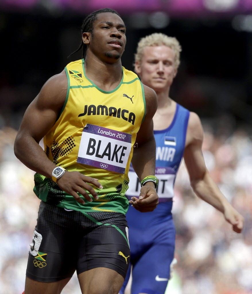 Jamaica Day 3 Lifting with Yohan Blake   letsruncom