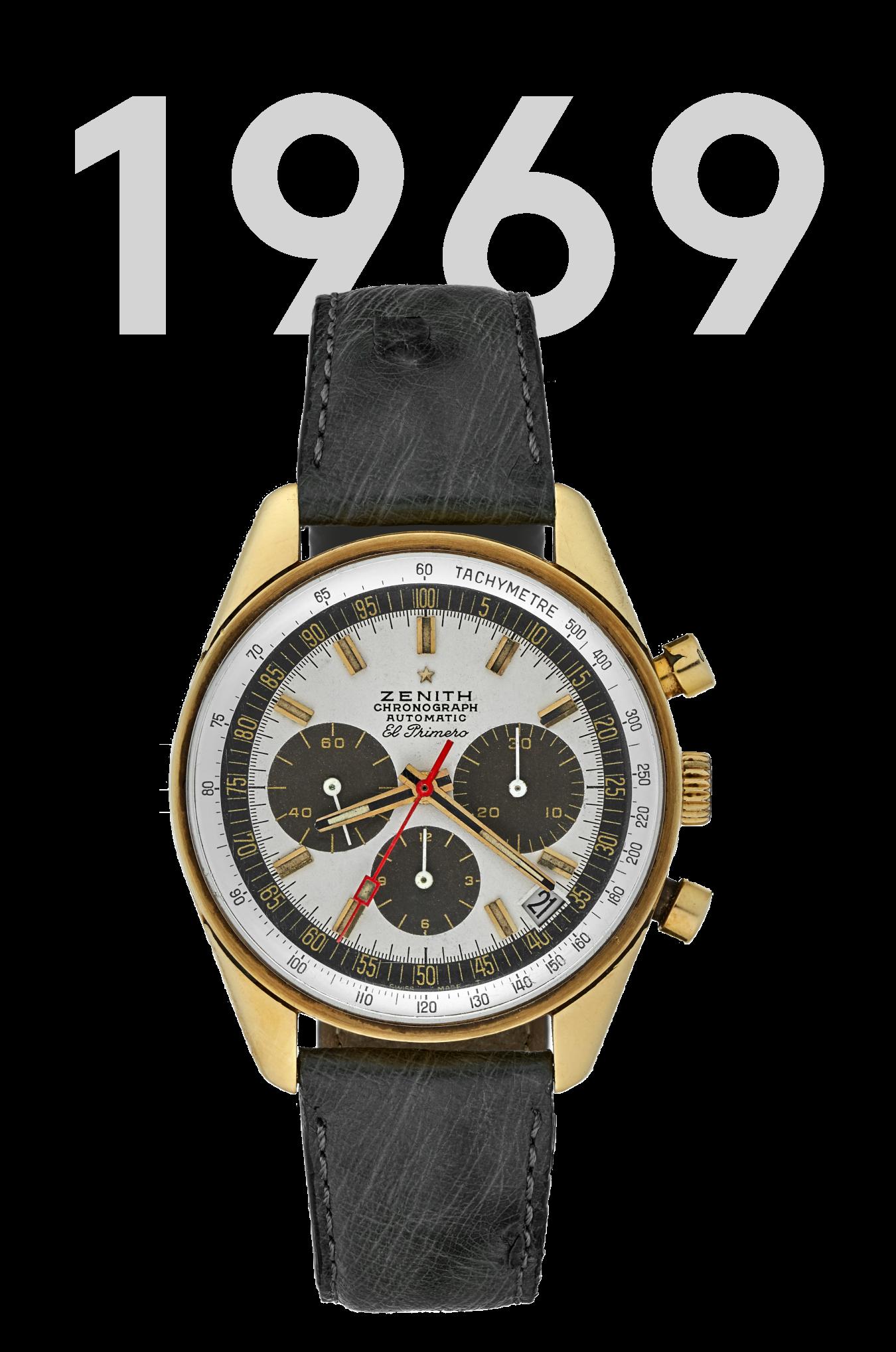 1969 version of the Zenith El Primero G381