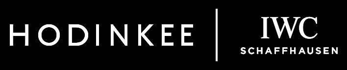 Hodinkee + IWC Logo
