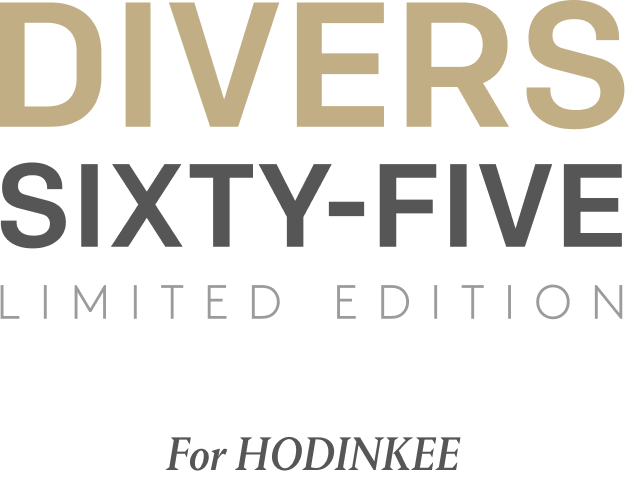 DIVERS65 Limited Edition Logo
