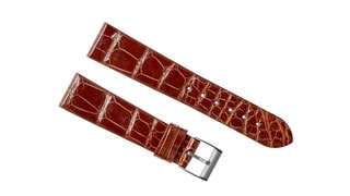 Brown Crocodile Strap