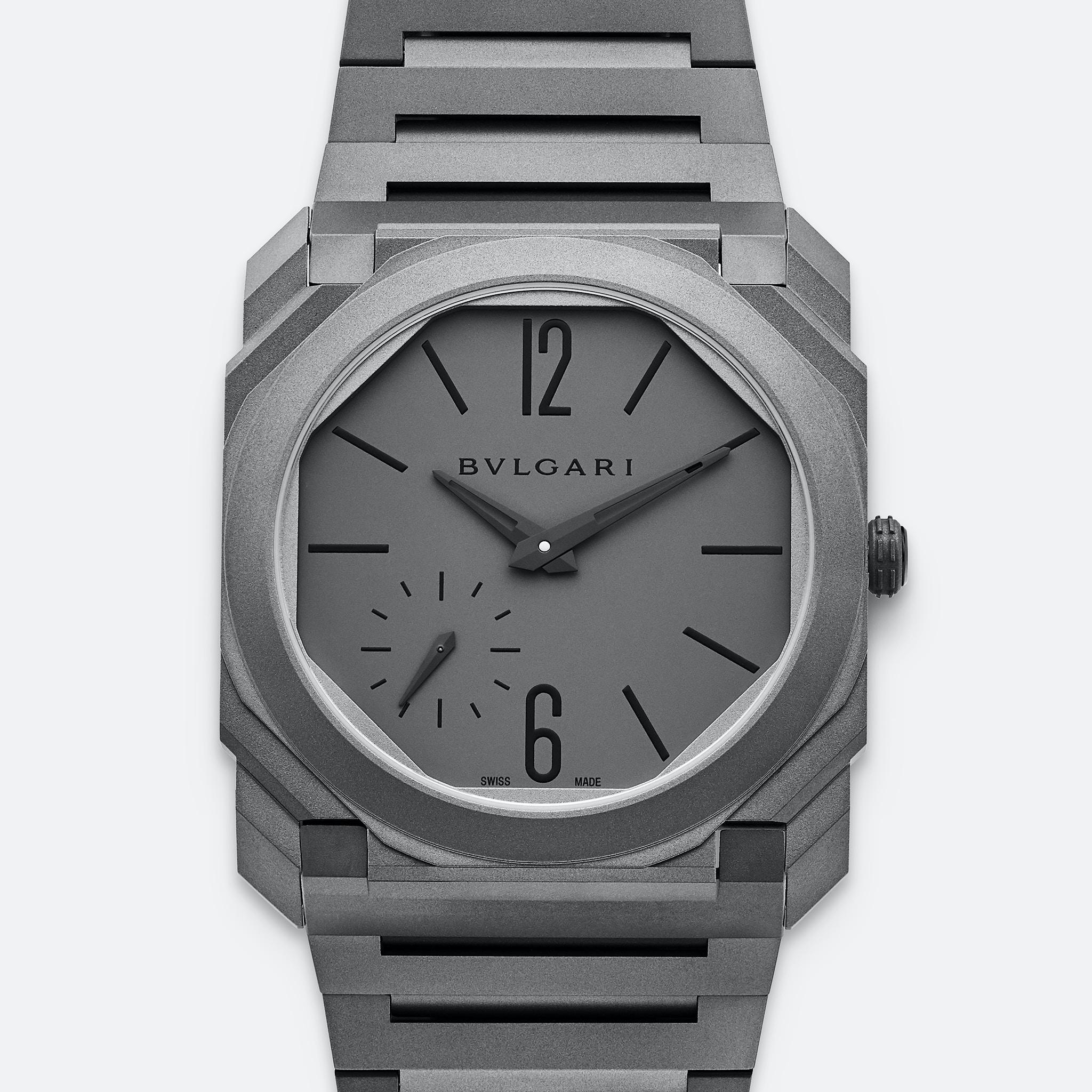 BVLGARI Octo Finissimo Automatic In Titanium With Bracelet – HODINKEE Shop