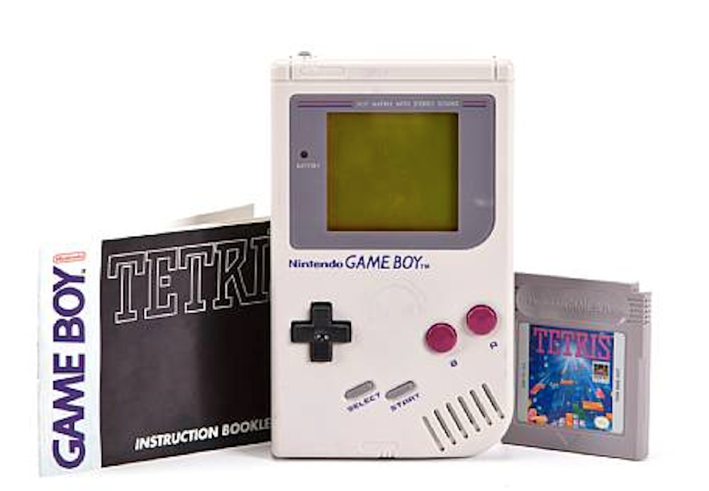 a research on the nintendo game boy