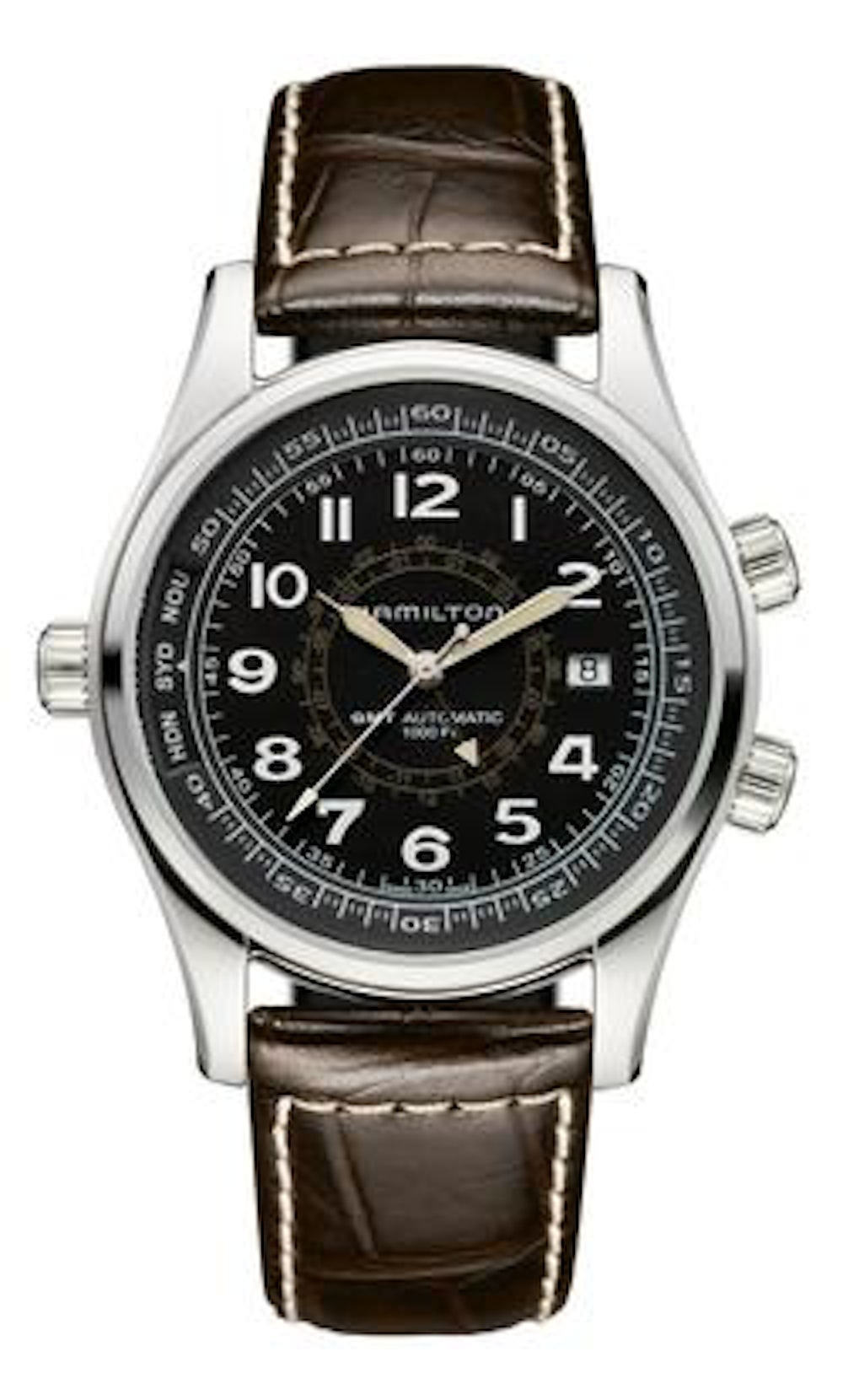 602fae8ee The Hamilton Khaki Skymaster UTC: A Quirky and Affordable GMT - HODINKEE