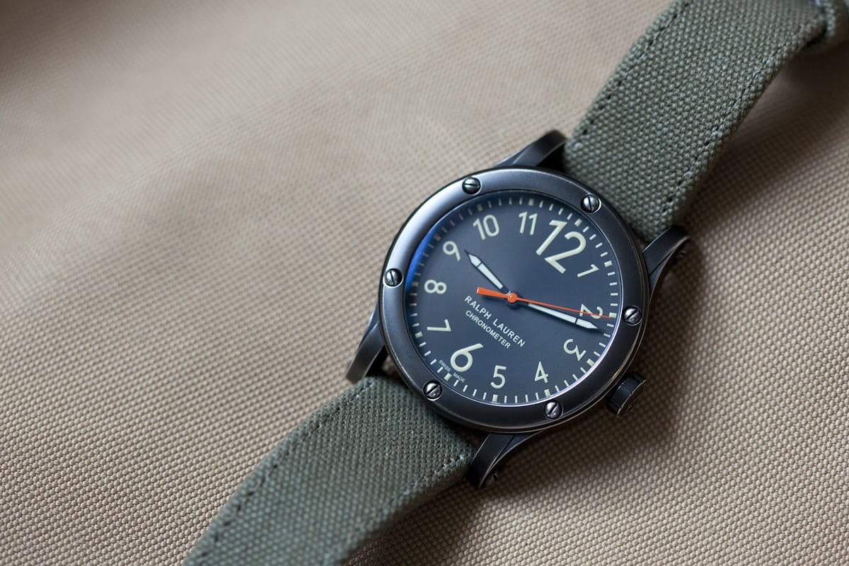 31ea2b9e021 Hands-On  With The Ralph Lauren RL67 Safari Chronometer (Live Pics ...