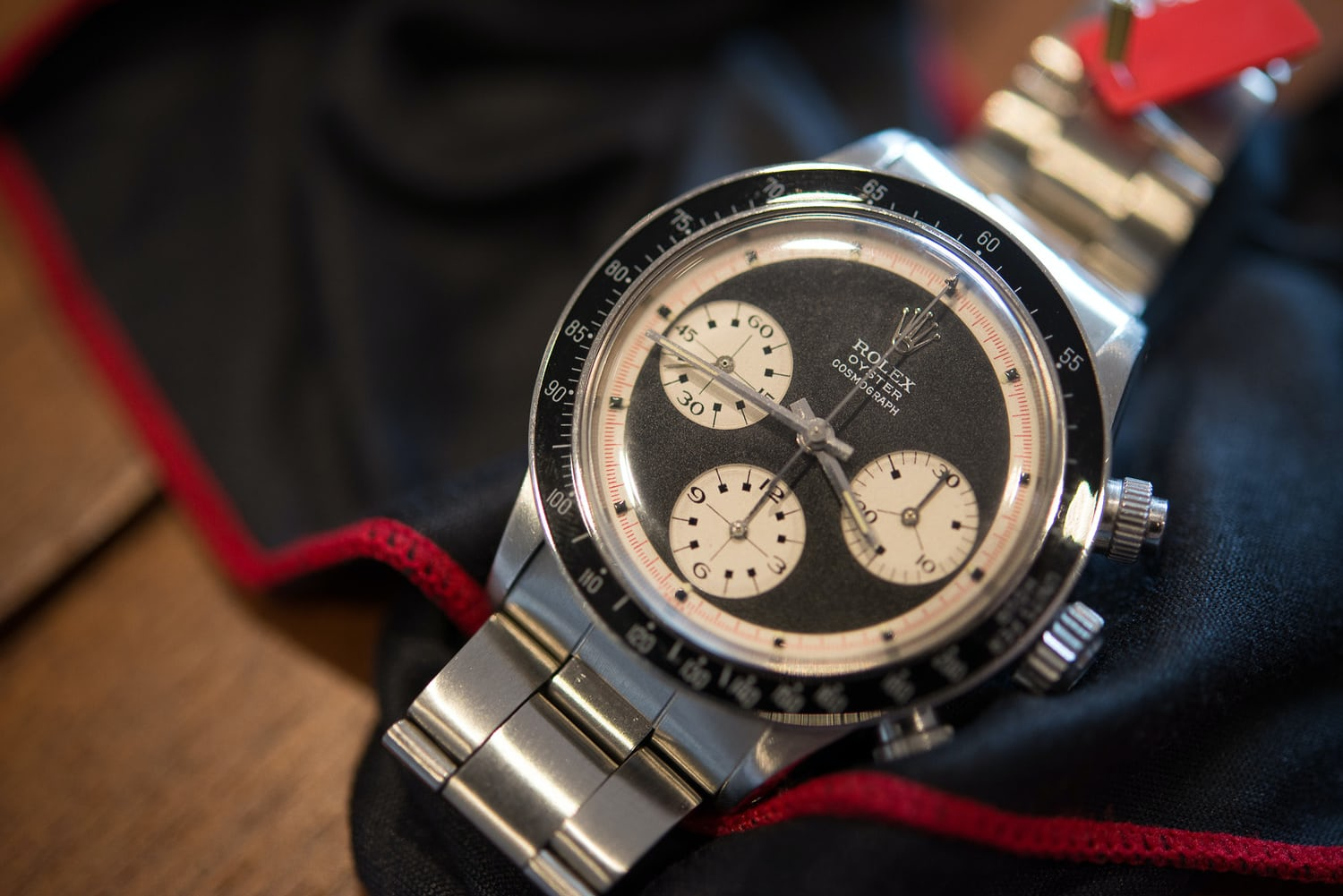 Christie S To Sell Controversial Black Dial Oyster Paul Newman That