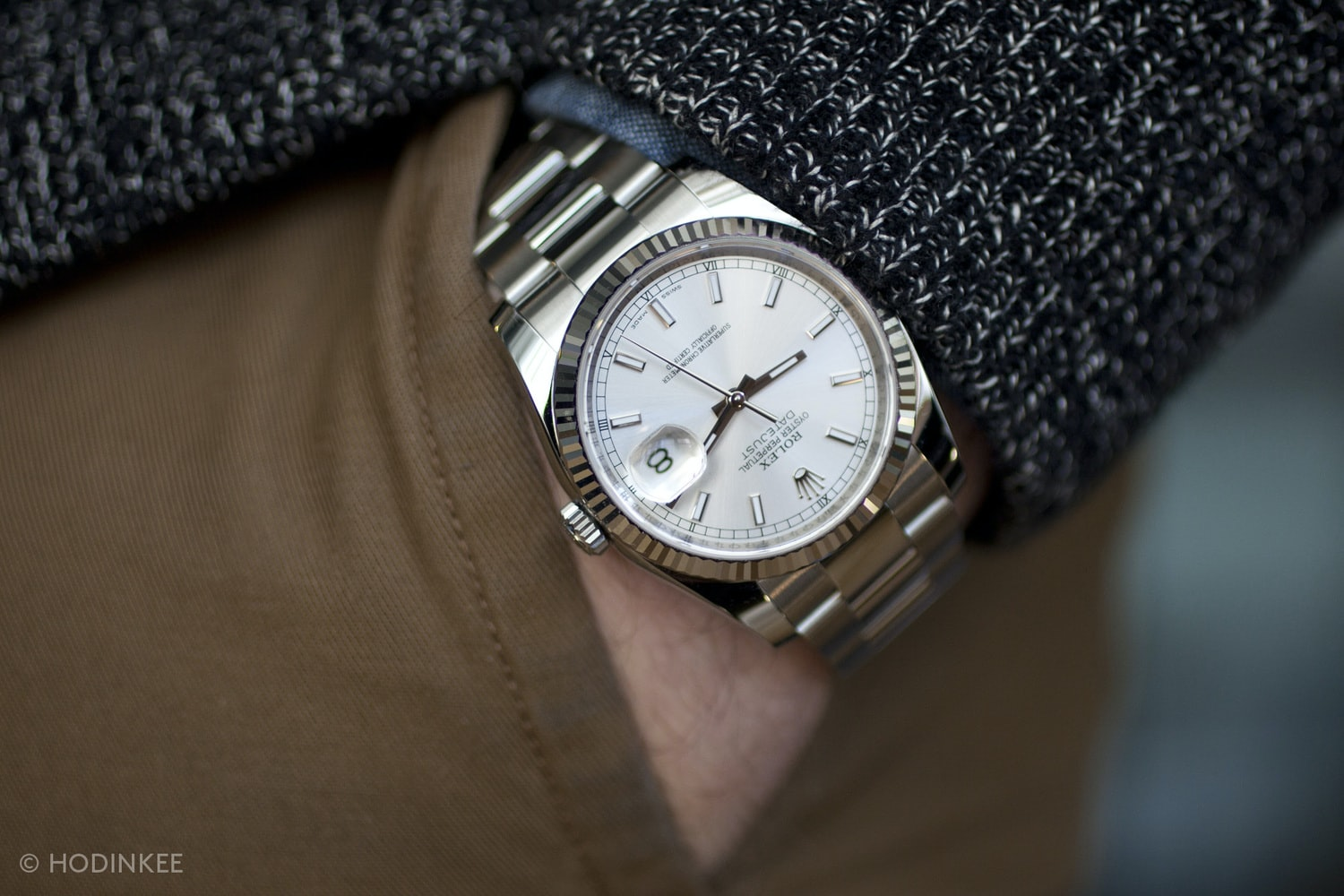 A Week On The Wrist The Rolex Datejust , HODINKEE