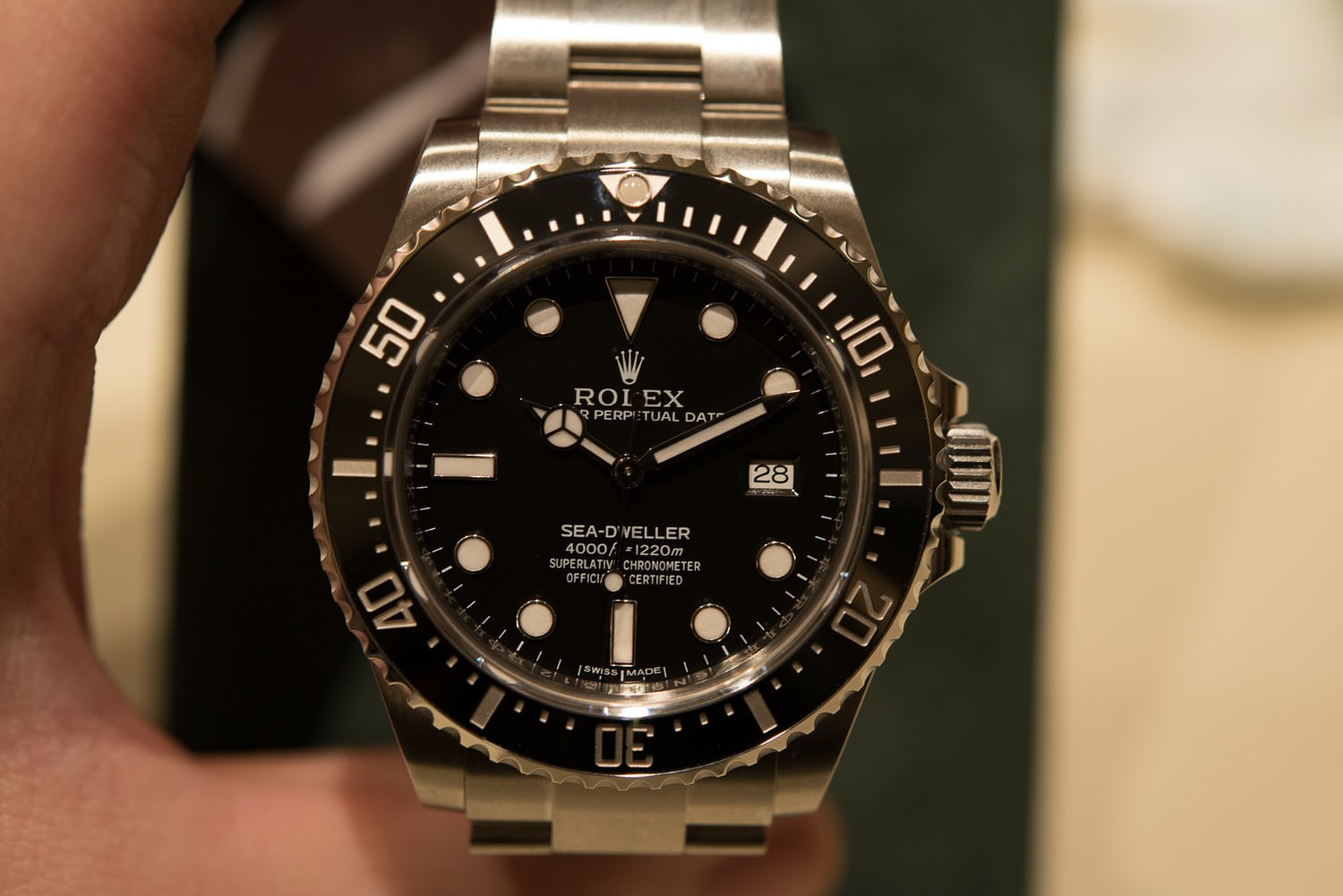 Hands On With The New Rolex Sea Dweller 4000 Currently In Stores