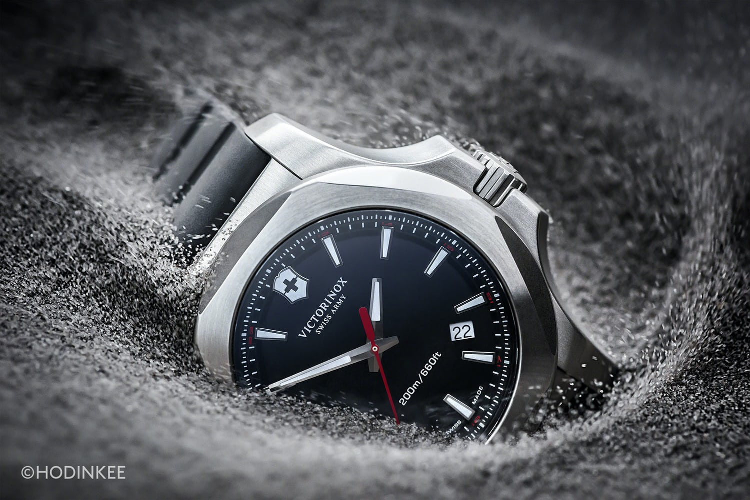 watch victorinox inox watches wound youtube mechanical review victor alliance worn