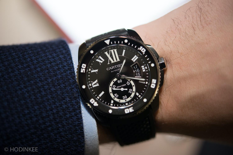 062401fef83 Hands-On  With The Calibre De Cartier Diver