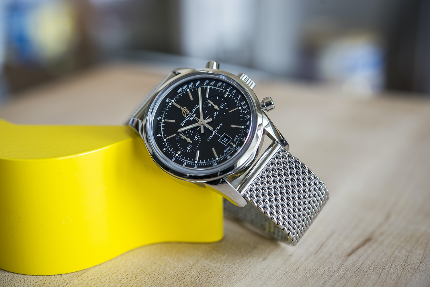 A Week On The Wrist: The Breitling Transocean Chronograph 38
