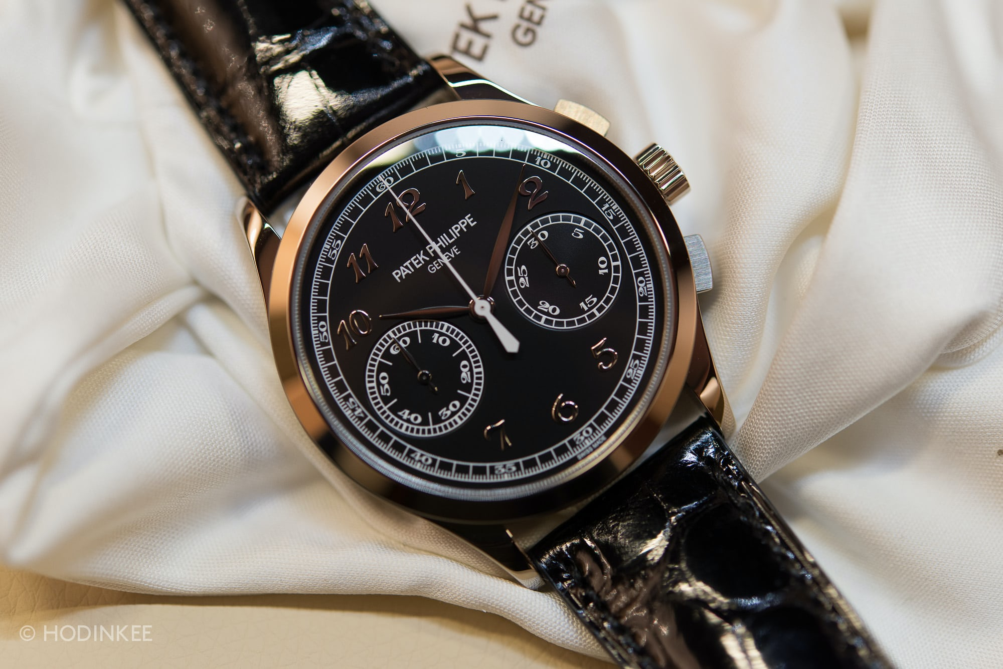 Hands On With The Patek Philippe 5170g Chronograph With Black Dial