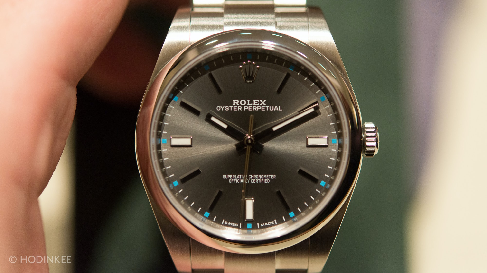 Hands-On: With The New 39 MM Rolex Oyster Perpetual