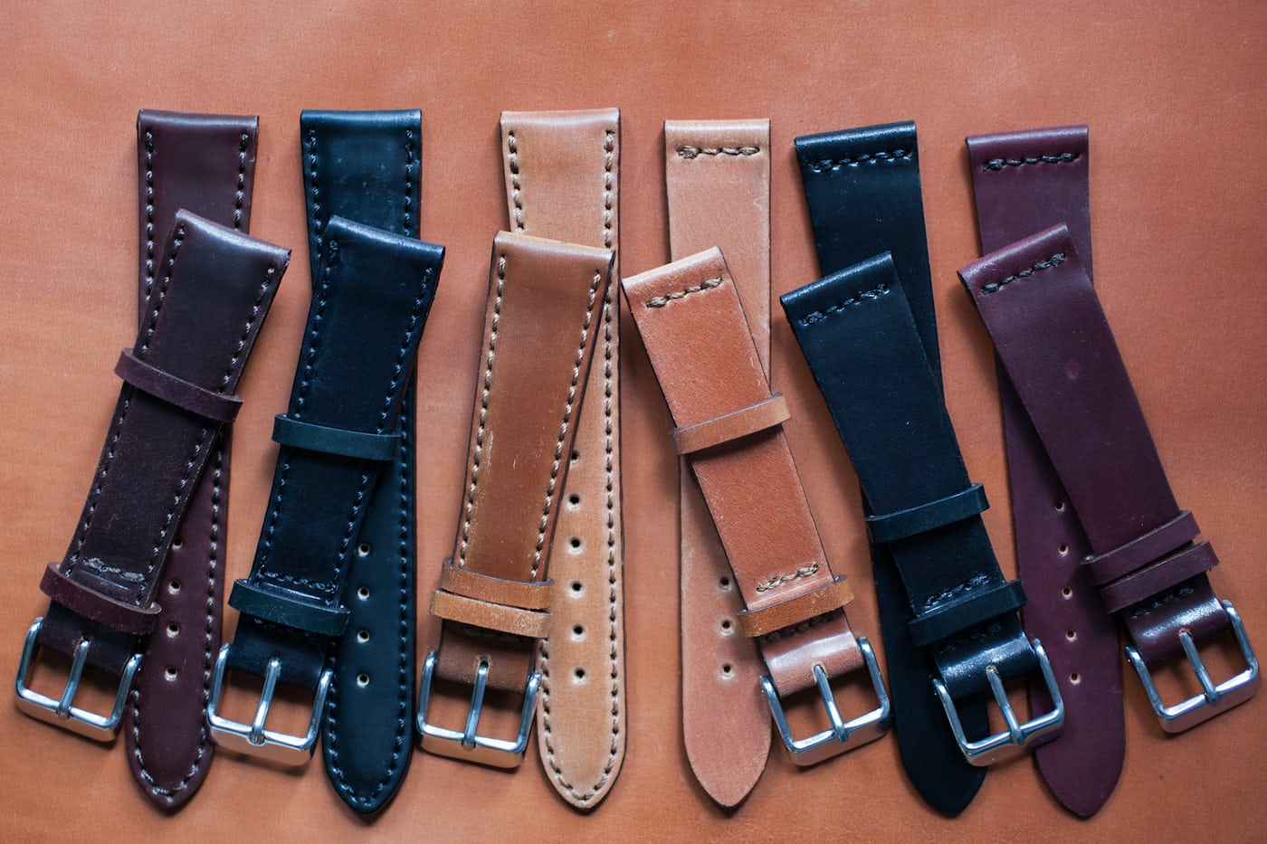 5742afb81 Made In The USA: Horween Shell Cordovan Straps Now Available In The  HODINKEE Shop