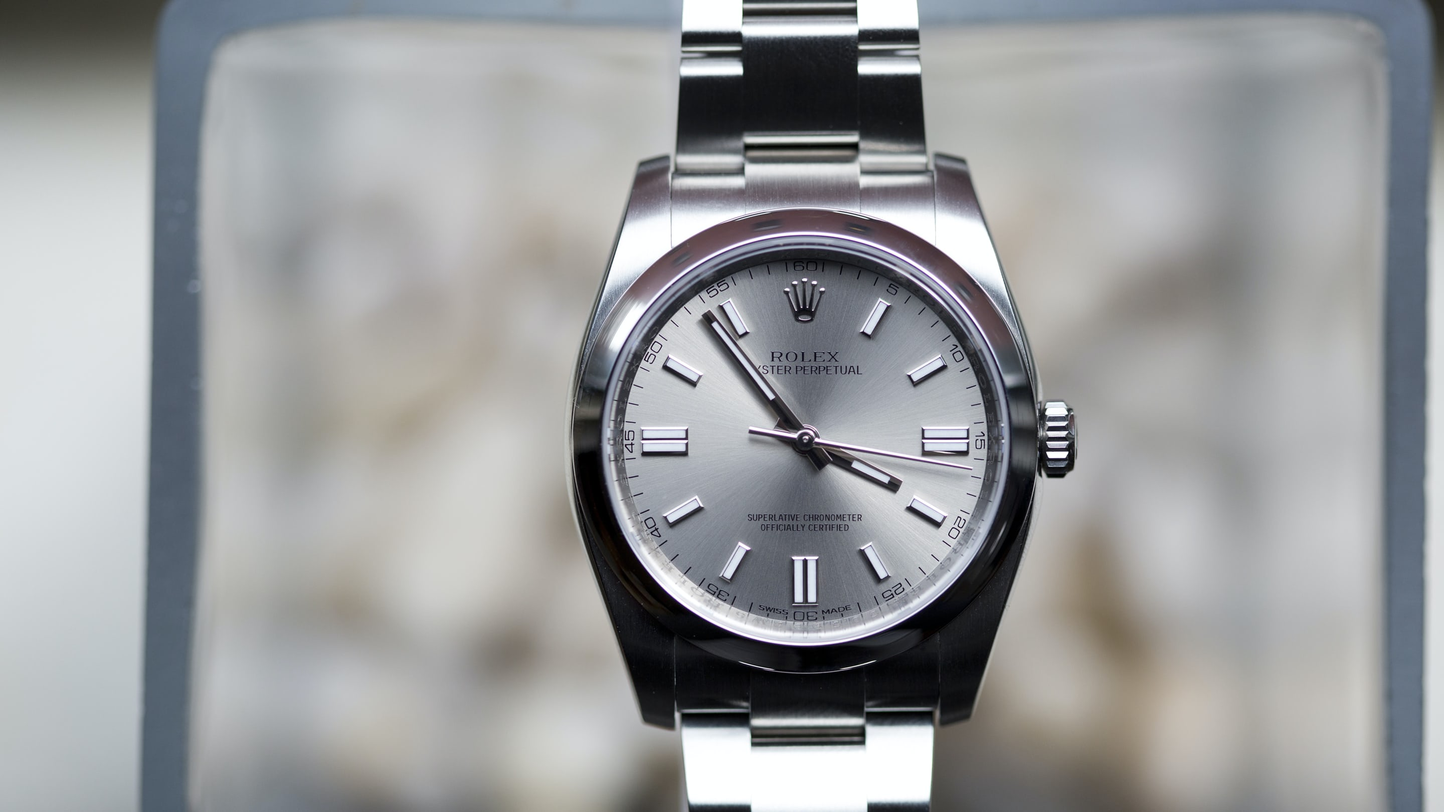 Hands On With The Rolex Oyster Perpetual In 36 Mm Hodinkee