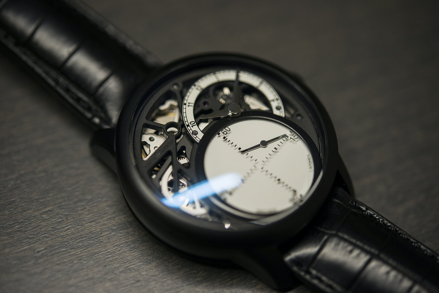 Hands-On: With The Maurice Lacroix Masterpiece Seconde Mystérieuse (Live Pics & Video)