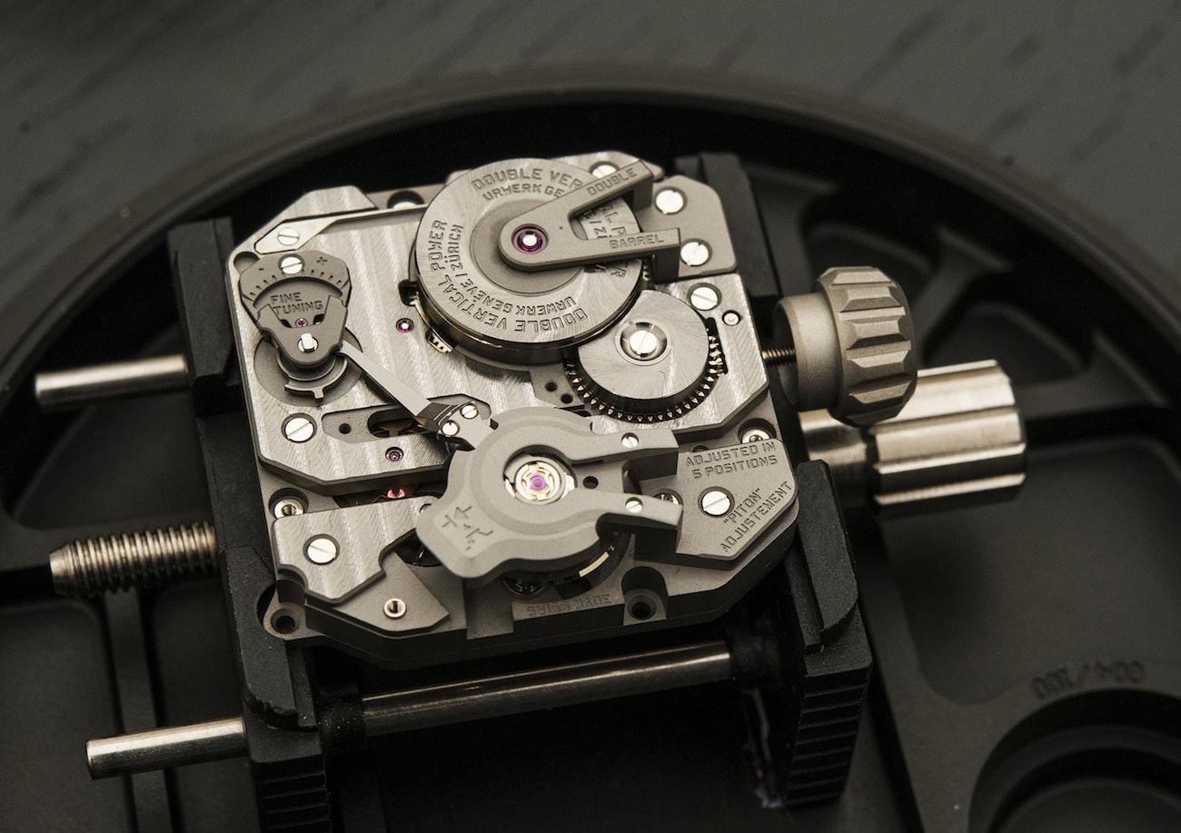 "Introducing The Urwerk EMC, The First Mechanical ""Smart"" Watch Movement (Live Pics & Details)"