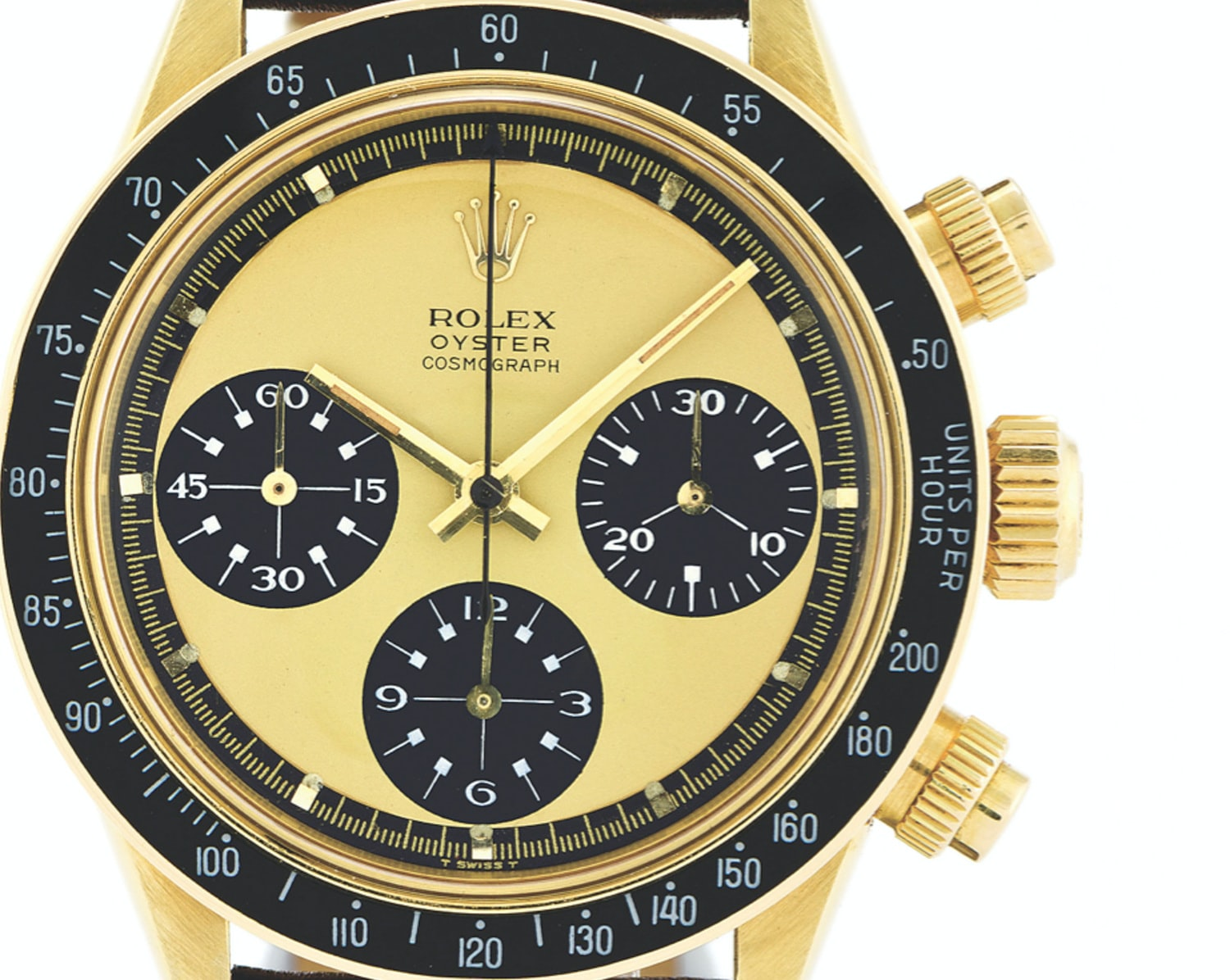 Previously Unknown Lemon Dial Paul Newman Daytona With