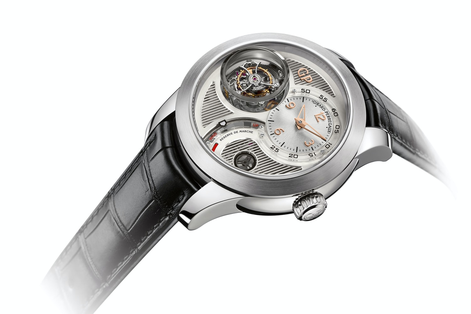 Introducing The Girard-Perregaux Tri-Axial Tourbillon In White Gold (Exclusive Pics)