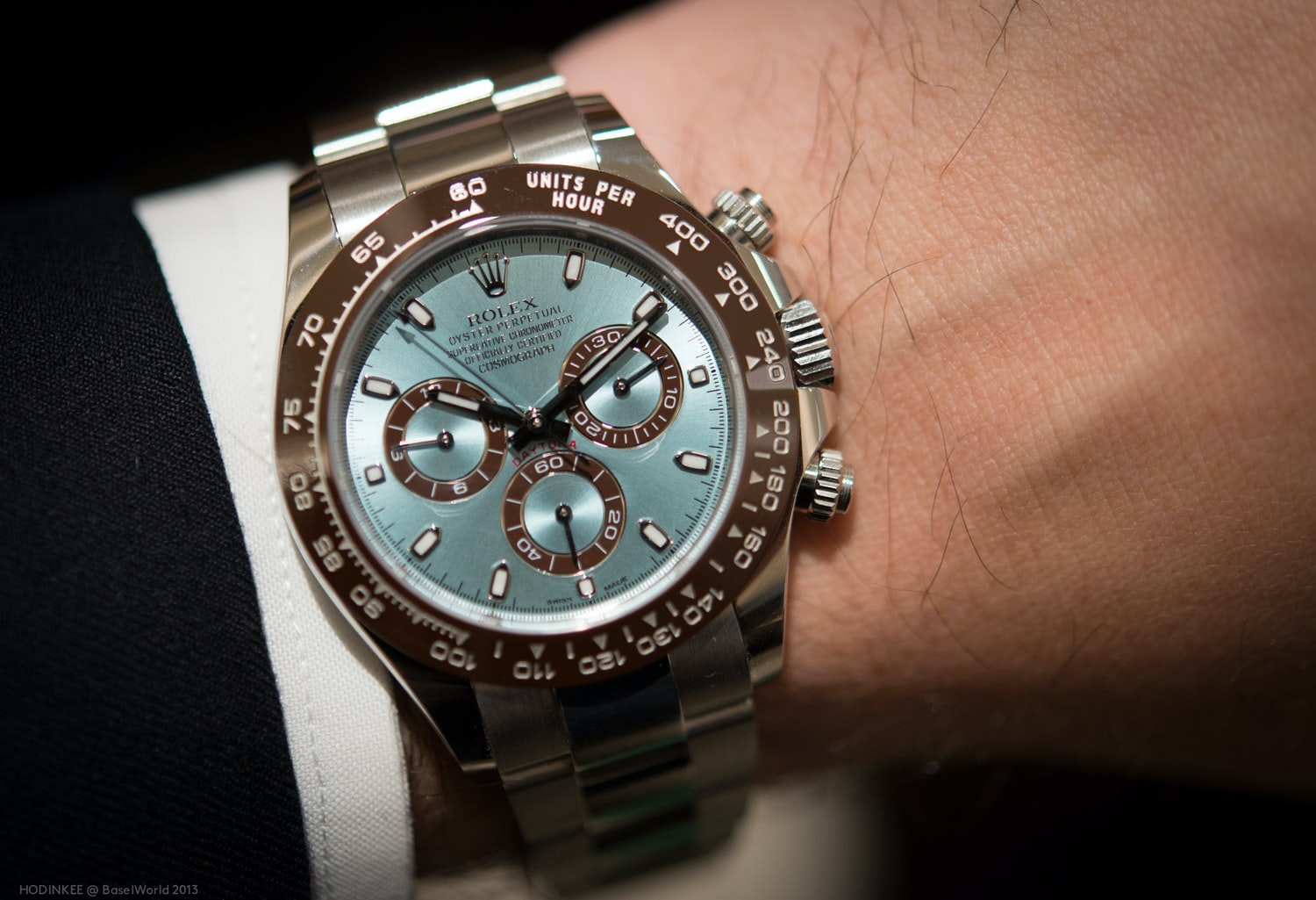Hands-On: With The 50th Anniversary Rolex Cosmograph Daytona In Platinum Reference 116506 (Live Pics, Full Details, Pricing)