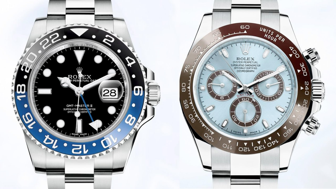 Your First Look At The New Rolex Daytona And GMT-Master II
