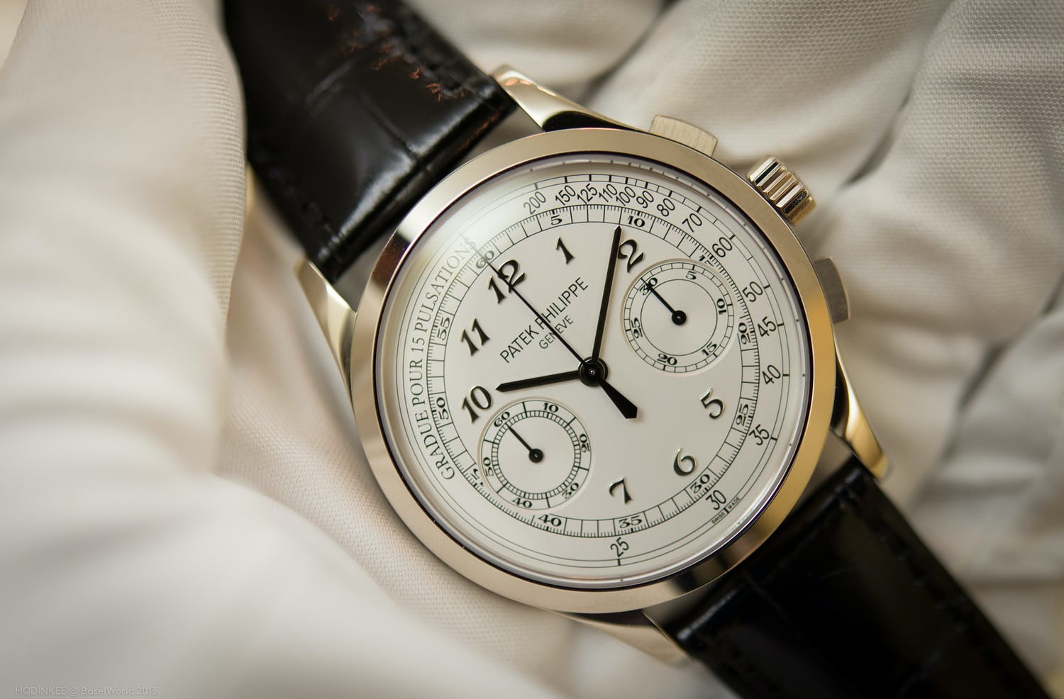 Introducing The Patek Philippe 5170g Today S Patek Chrono Now