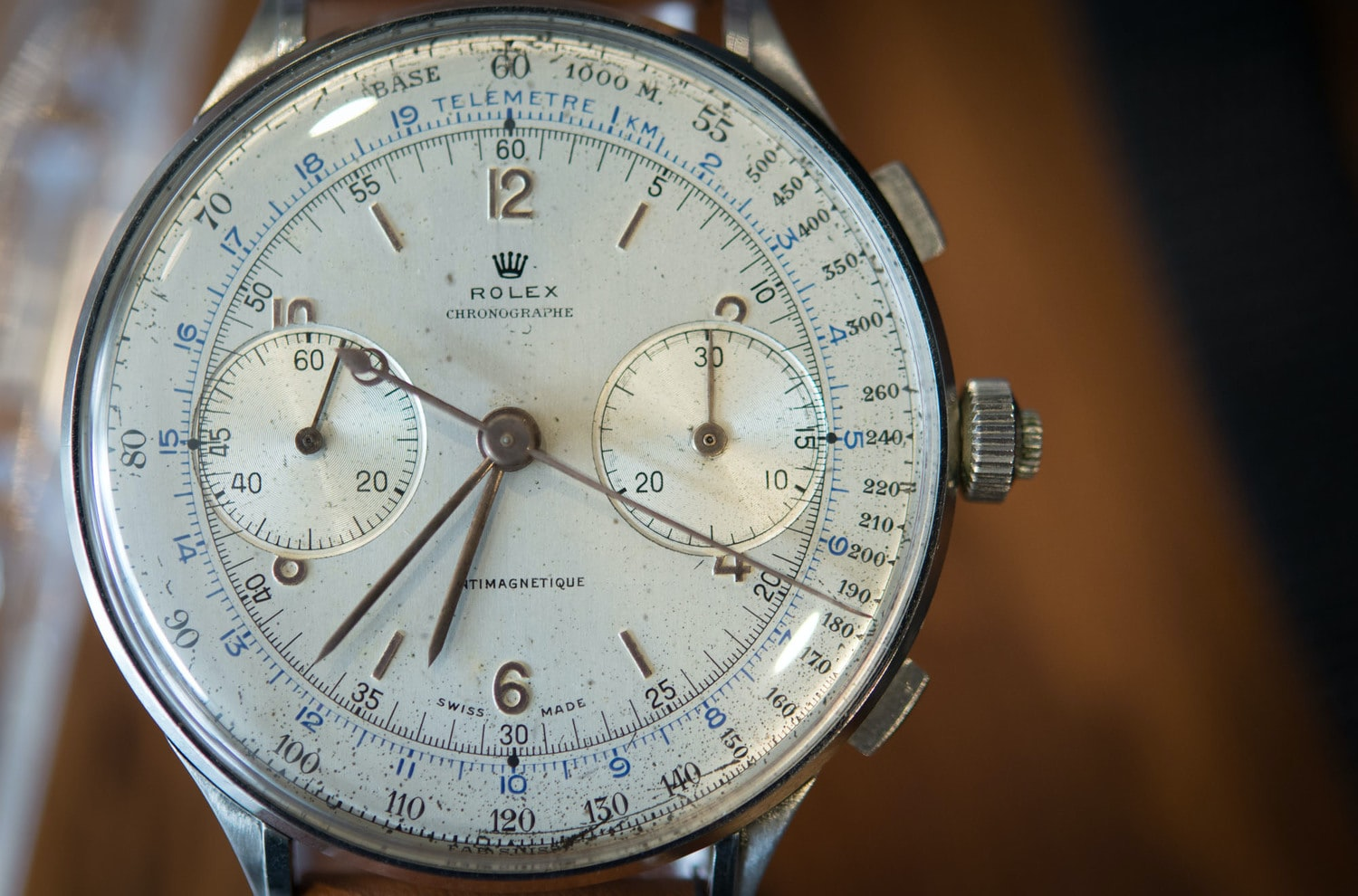 Hands-On: With Three Of The Absolute Rarest Vintage Rolex Chronographs, Ever: The 4113 Split-Seconds, The Hermes Paul Newman, And The Zerographe