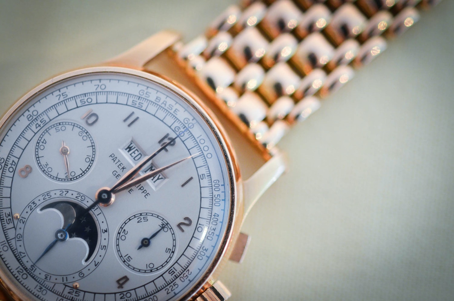 Hands-On: With The Patek Philippe Perpetual Calendar Chronograph Reference 1518 In Pink Gold, For Sale Today At Antiquroum