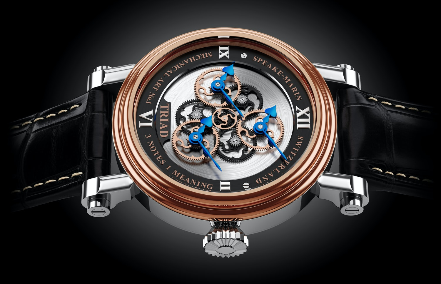 Introducing The Peter Speake-Marin Triad: A Tribute To The Number Three