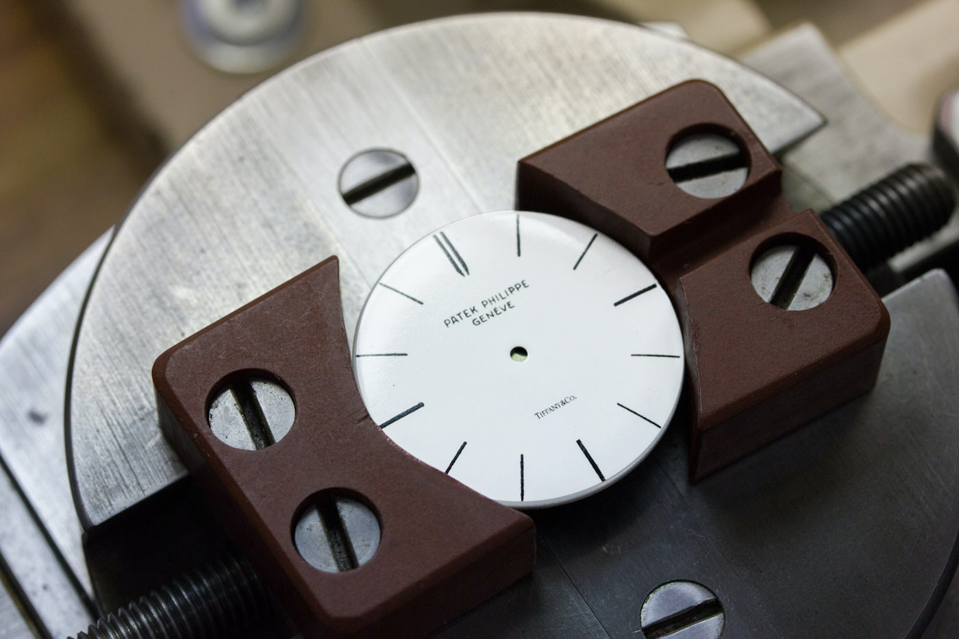 Learning To Print Tiffany & Co. Dials With Patek Philippe In New York