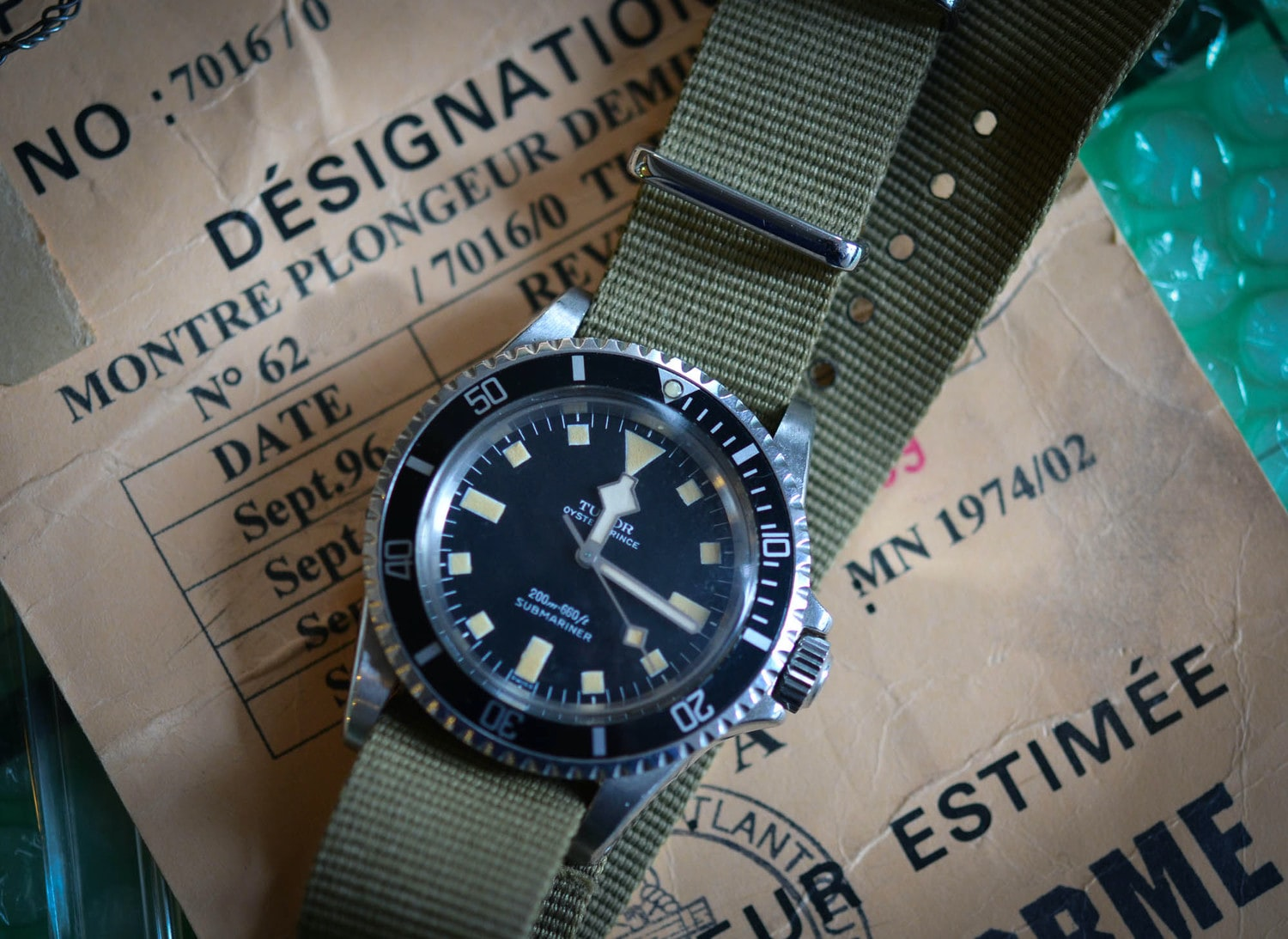 Historical Perspectives: Just Because: A Tudor Submariner Issued By The French Marine Nationale
