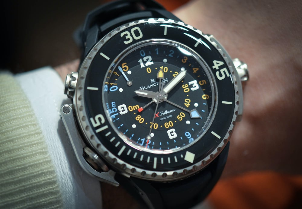 Hands-On: With The Absolutely Insane Blancpain X Fathoms (Live Pics, Official Pricing) - HODINKEE
