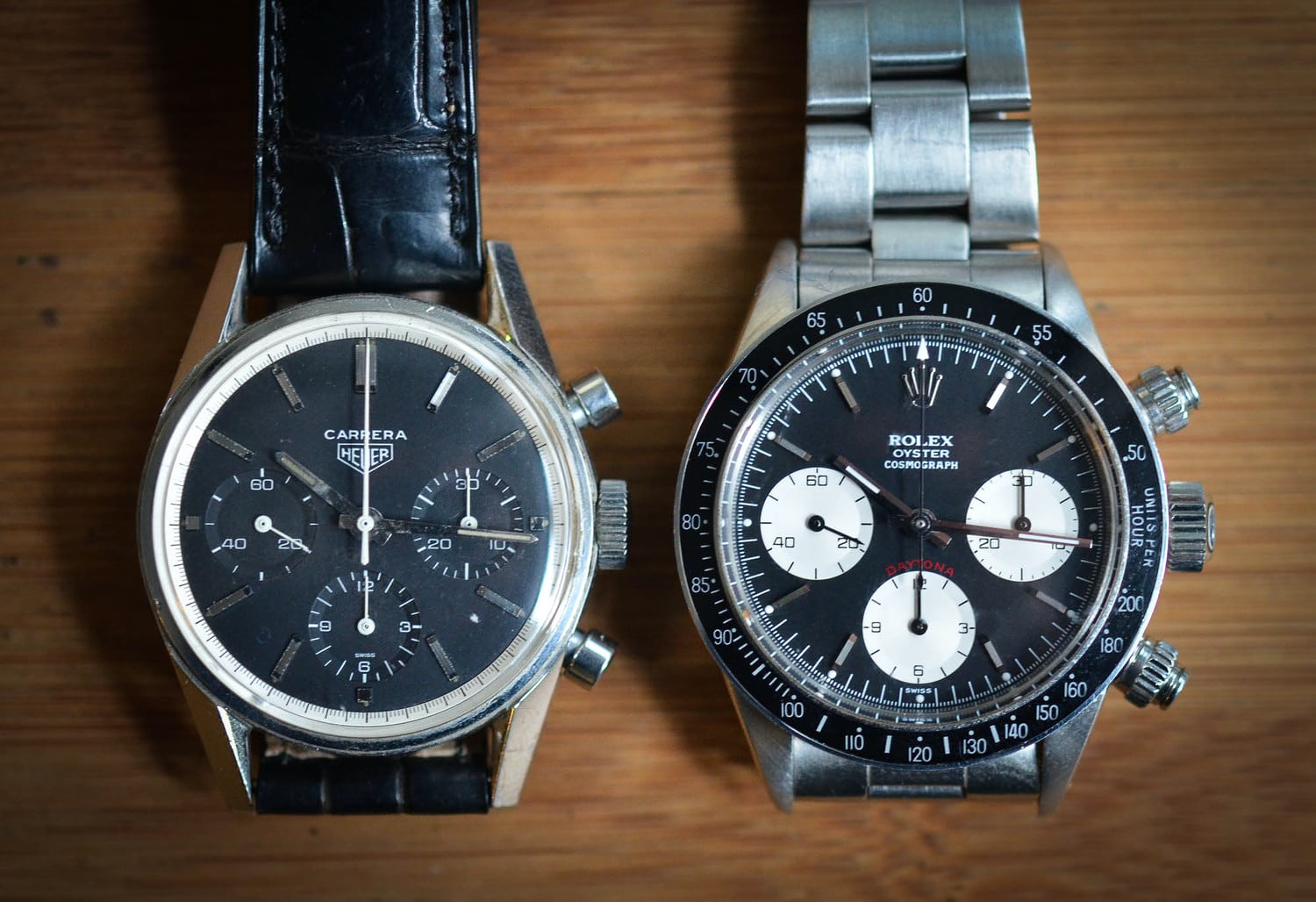 Historical Perspectives Something To Consider 2013 Is The 50th Anniversary Of Both The Rolex Daytona And The Tag Heuer Carrera Hodinkee