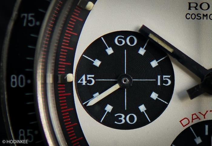Rolex Daytona Paul Newman reference 6241 dial on Hodinkee