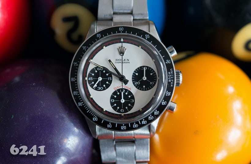 Rolex Daytona Paul Newman reference 6241