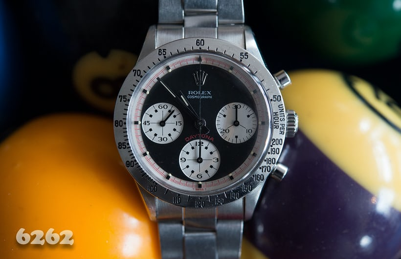 Rolex Daytona Paul Newman reference 6262