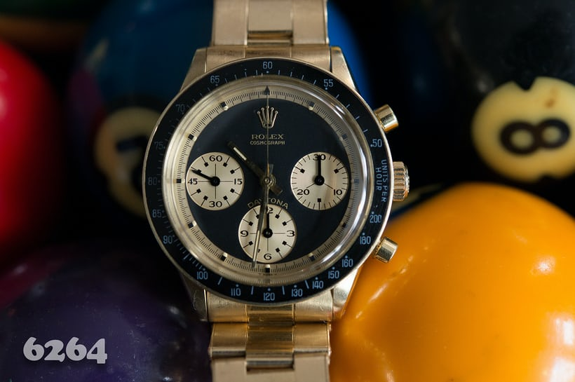 Rolex Daytona Paul Newman reference 6264