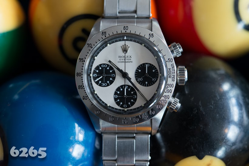 Rolex Daytona Paul Newman reference 6265