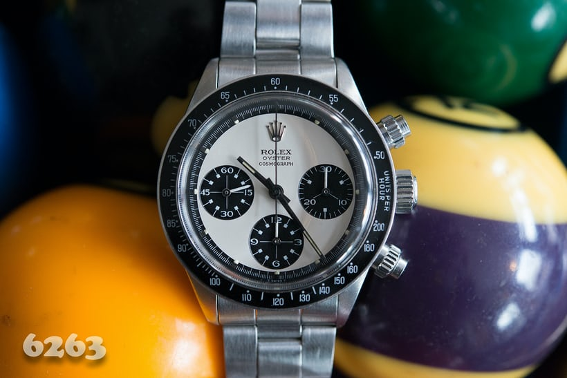 Rolex Daytona Paul Newman reference 6263
