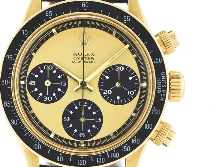 Rolex Daytona Paul Newman Yellow Gold Lemon Dial