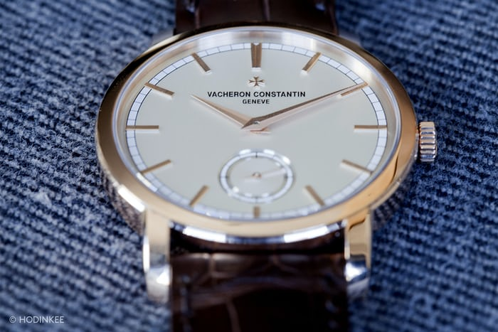 Vacheron Constantin Patrimony Traditionnelle Small Seconds Dial