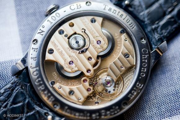 F. P. Journe Chronomètre Bleu movement caliber 1304
