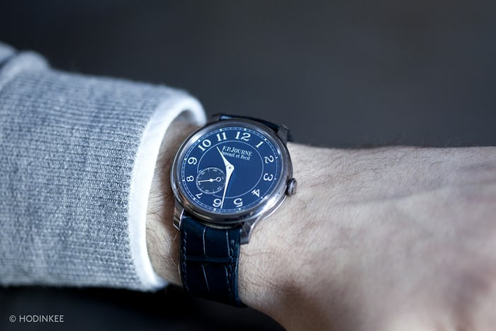 F. P. Journe Chronomètre Bleu