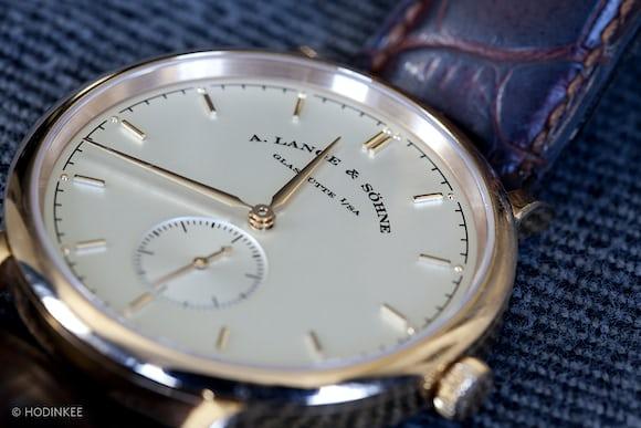 A. Lange & Söhne Saxonia 37mm dial