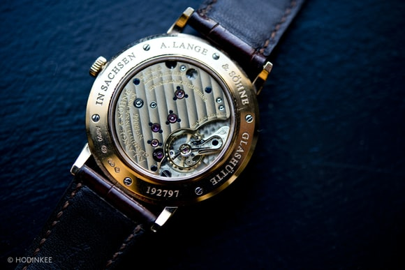 A. Lange & Söhne Saxonia movement caliber L941.1