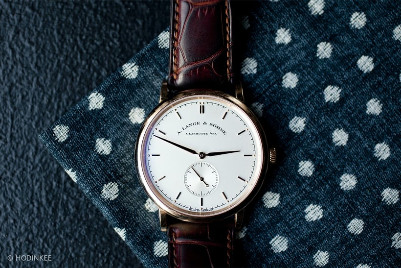 a lange sohne saxonia small seconds
