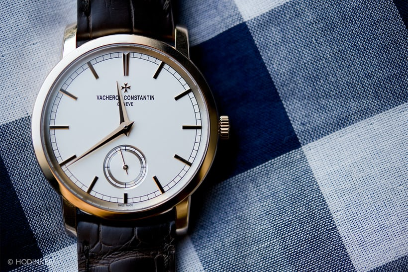 Vacheron Constantin's Patrimony Traditionnelle Small Seconds in pink gold