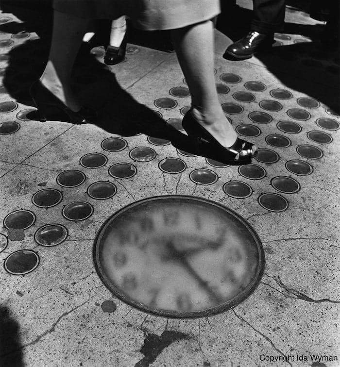 Barthman sidewalk clock