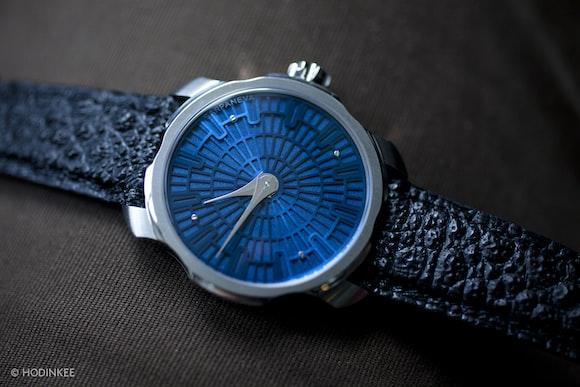 Sarpaneva K1 blue dial