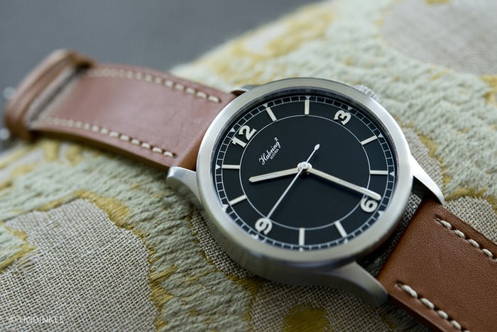 Habring2 Jumping Second Pilot dial